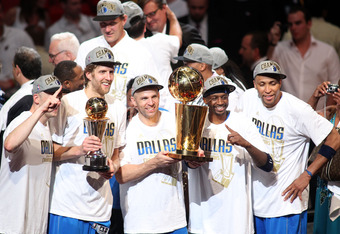Kidd (in the middle) was the catalyst of the Mavs' title run last year, most notably in the Western Conference finals against Oklahoma City.
