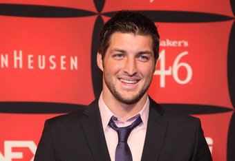 INDIANAPOLIS, IN - FEBRUARY 03:  Tim Tebow attends ESPN The Magazine's 'NEXT' Event on February 3, 2012 in Indianapolis, Indiana.  (Photo by Robin Marchant/Getty Images for ESPN)
