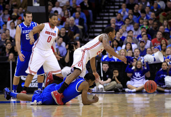 Last year, Ohio state was a No. 1 seed, but was tripped up by No. 4 seed Kentucky in the Sweet 16