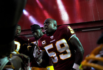 The Redskins are risking losing London Fletcher