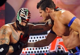 Rey Mysterio and Evan Bourne