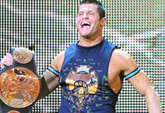 Evan Bourne as WWE Tag Team Champion