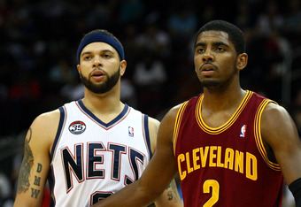 Kyrie Irving has become a star for the Cleveland Cavaliers in his first year in the NBA.
