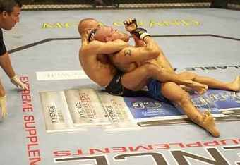 GSP finishes Frank Trigg