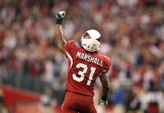 Richard Marshall will not suit up in Cardinals red in 2012, following his departure for Miami.