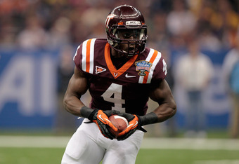 David Wilson led the ACC in rushing in his only year as a starter at Virginia Tech