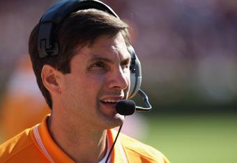 Tennessee head coach Derek Dooley