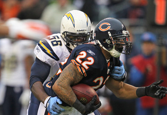 Matt Forte has been underpaid, injured and now has to share carries with Michael Bush.