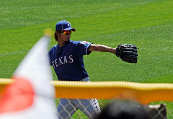 Yu Darvish of the Texas Rangers.
