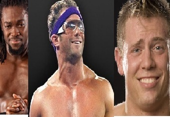 A change is needed for Kofi Kingston, Zack Ryder, and the Miz.  Will one of them get that change at WrestleMania?