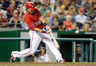 Morse hit 31 home runs last season for the Nationals