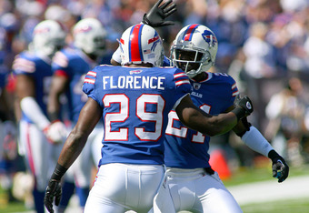There wasn't a lot of high-fiving going on in the Bills secondary last year.