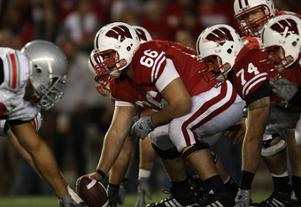 Wisconsin C Peter Konz would be the Cowboys presumptive target in a trade down.