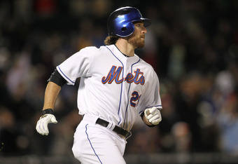 NEW YORK, NY - APRIL 21: Ike Davis #29 of the New York Mets runs the bases after hitting a solo home run against the Houston Astros at Citi Field on April 21, 2011 in the Flushing neighborhood of the Queens borough of New York City.  (Photo by Nick Laham/