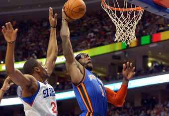 An injury to Amar'e Stoudemire will make any Knick playoff run that much more difficult.