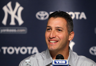NEW YORK, NY - FEBRUARY 04:  Andy Pettitte of the New York Yankees speaks during a press conference to announce his retirement on February 4, 2011 at Yankee Stadium in the Bronx borough of New York City.  (Photo by Jim McIsaac/Getty Images)