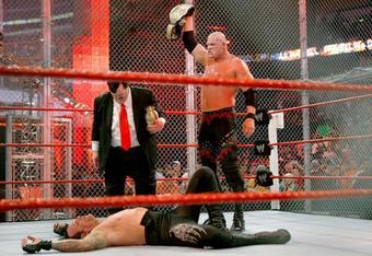 The Undertaker was defeated by Kane in his most recent Hell in a Cell match in 2010.