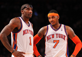 When healthy Stoudemire is part of an effective duo with Carmelo Anthony.
