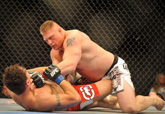 Lesnar finished his MMA career with a 5-3 record.