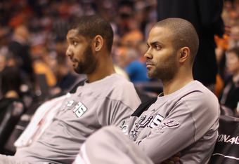 As long as Tim Duncan and Tony Parker are playing this well for the Spurs, this is a team that shouldn't make too many changes.