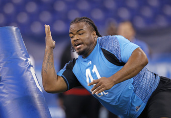 A strong performance at the NFL Combine has vaulted Poe to the best defensive tackle prospect in this year's draft.