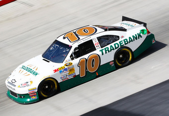 Reutimann's No. 10 car now sits 36th in owner points, 1 point behind the No. 83