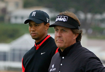 Phil put a beatdown on Tiger at Pebble Beach