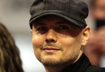 Musician and wrestling impresario Billy Corgan