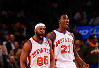 The Knicks desperately need Davis and Shumpert to stay healthy now.