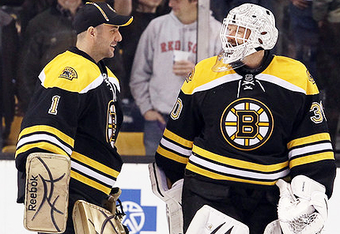 Look for Marty Turco to give Tim Thomas a rest in the final three games of the season