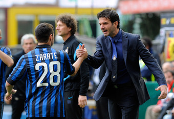 Moratti is hoping that former youth coach Stramaccioni can inject more energy into the stumbling side.