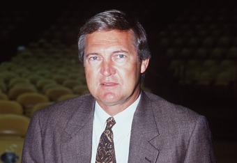 Jerry West: 28 points in an NCAA title game defeat