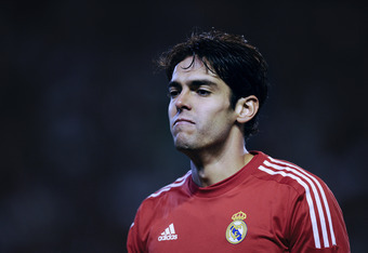 Kaká has turned around his season with Real Madrid.