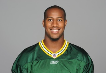 GREEN BAY, WI - CIRCA 2011: In this handout image provided by the NFL, Tori Gurley of the Green Bay Packers poses for his NFL headshot circa 2011 in Green Bay, Wisconsin.  (Photo by NFL via Getty Images)