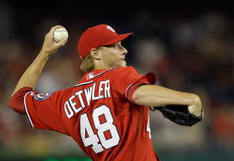 The Nationals believe Ross Detwiler brings upside from the left side.