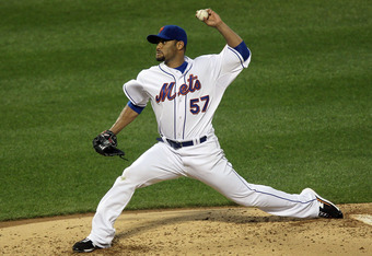 A healthy Johan Santana will be a welcome sight for Mets fans