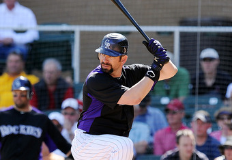Todd Helton: 14 straight Opening Days as Colorado's first baseman