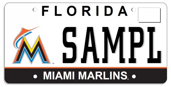 Miami marlins fans are you rocking the new team license for Florida non resident fishing license cost