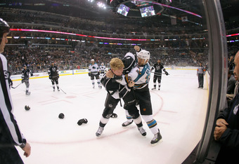 The Kings and the Sharks finish up the regular season against each other Saturday night in San Jose. Both teams are tied with 94 points.