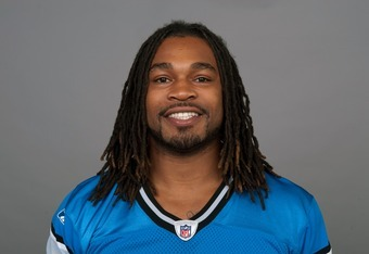 DETROIT, MI - CIRCA 2011: In this handout image provided by the NFL,  Mikel Leshoure of the Detroit Lions poses for his NFL headshot circa 2011 in Detroit, Michigan.  (Photo by NFL via Getty Images)
