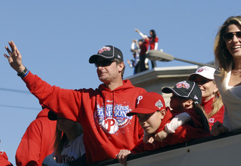 In 2008, at the age of 45, Jamie Moyer won 16 games for the Philadelphia Phillies, and won his first World Series. Four years later, and approaching 50, Moyer is still doing what he loves.