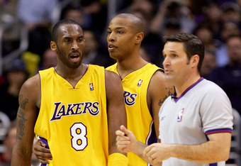 Caron, Kobe & The Lakers Go Back.