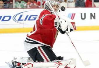 Corey Crawford might not be consistent enough in the crease for the Blackhawks to make a deep run