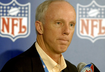 McKay was a possiblity for NFL Commissioner when he was GM'ing the Falcons and is head of the NFL Competition committee