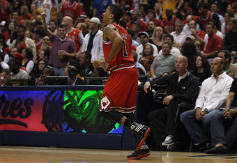 The Bulls are in trouble without a healthy Derek Rose