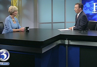 """Mrs. McMahon appearing on Dennis House's """"Face the State"""" June 22, 2010"""