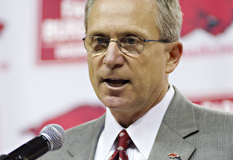Arkansas Athletic Director Jeff Long