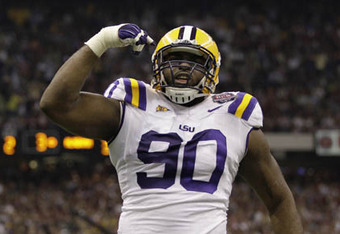 DT Michael Brockers - LSU