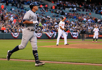 Can Alex Rodriguez turn things around? (Photo by Rob Carr/Getty Images)