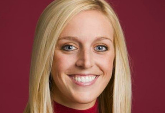 Former University of Arkansas Volleyball Player Jessica Dorrell